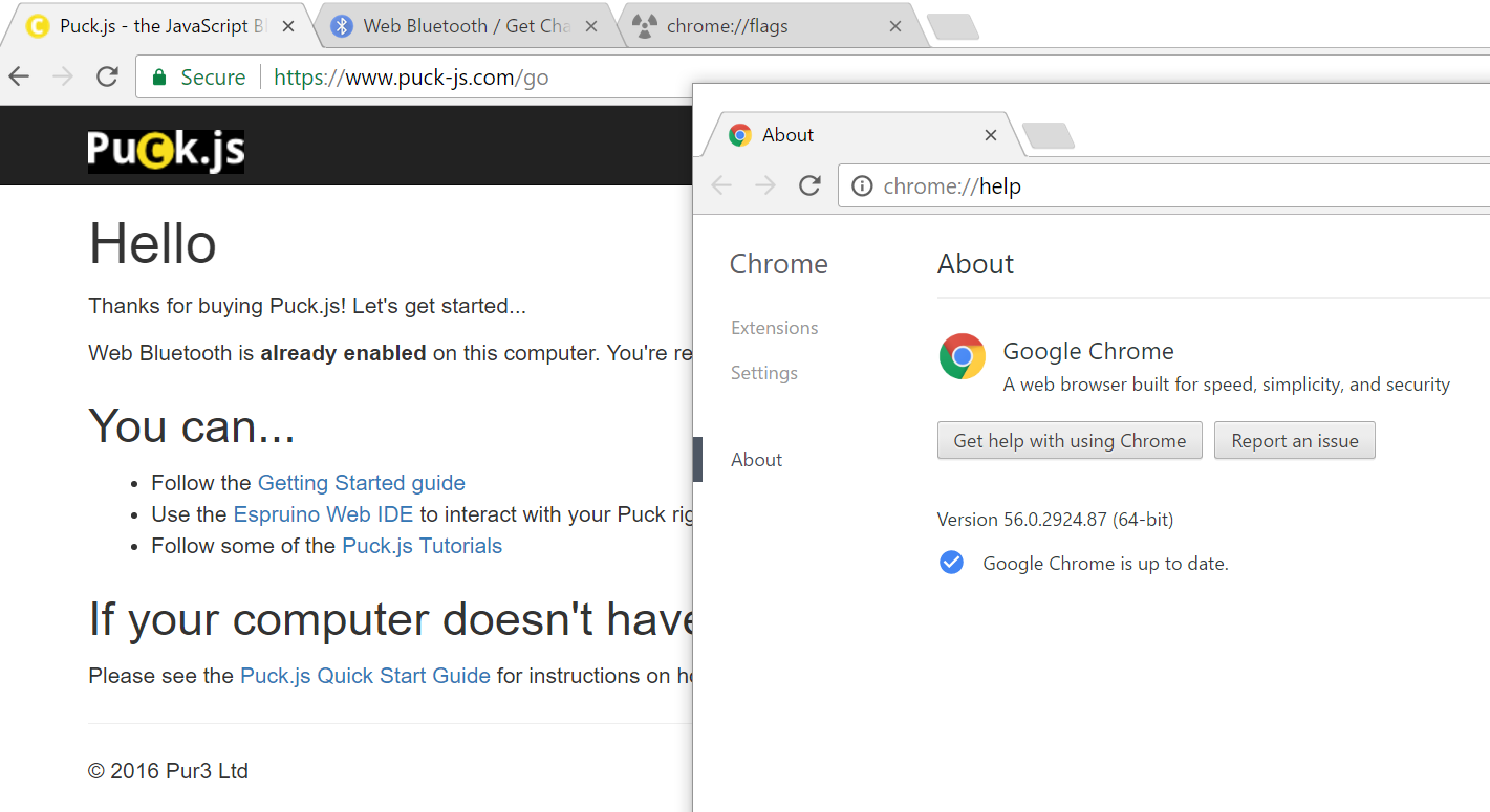 enable javascript windows 10 chrome